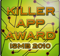ISMB Killer App Award 2010